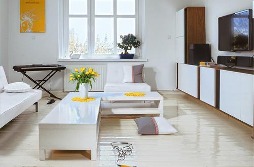 Sposób na białą podłogę